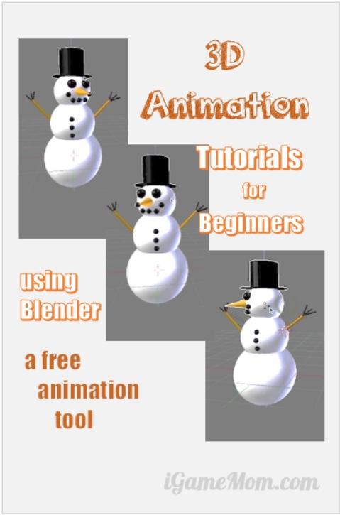 3D Animation Tutorials for Beginners using Blender