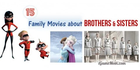 kids movies about siblings