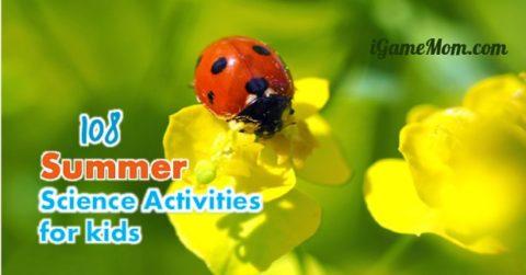 kids summer science activities