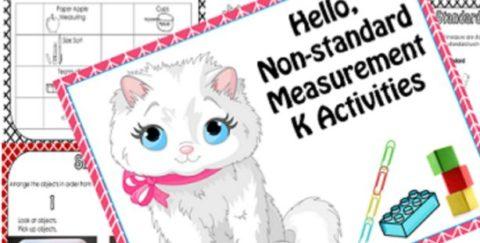 Non-standard Measurement Activities Kindergarten Free Printable