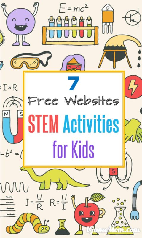 Free online STEM resources with fun activity ideas for students with fully developed lesson plans for teachers or homeschool parents. Listed out by Science, Technology, Engineering, Math, and grade level.