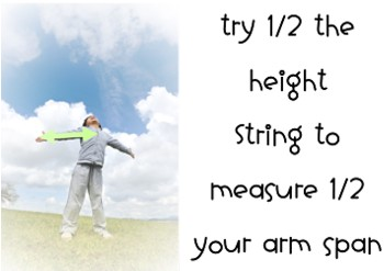 measure half arm span