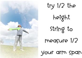 measure half arm span