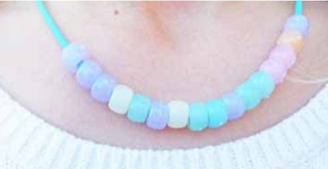Solar Beads necklace
