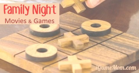 family night movie game ideas