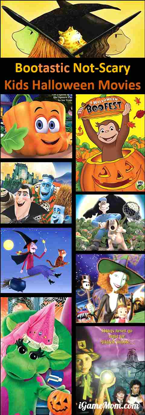 Halloween Movies for Kids That Are Not So Scary