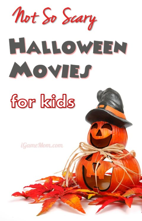 Not So Scary Halloween Movies for Kids that the whole family can watch together