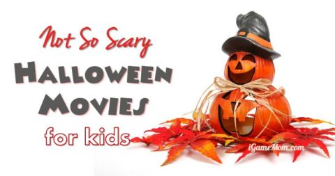 not scary Halloween movies for kids