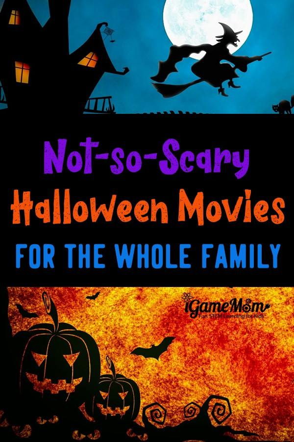 Halloween movies for kids that are not scary. Perfect for family of multiple children and classroom