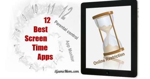 screen time apps parental control monitor
