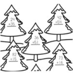150 Free Winter Math Printable Worksheets post image