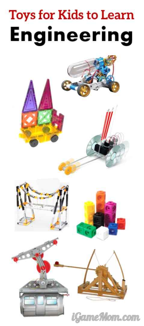Best building toys for kids to learn engineering. Integrate science math tech to teach STEM to preschool to high school kids.