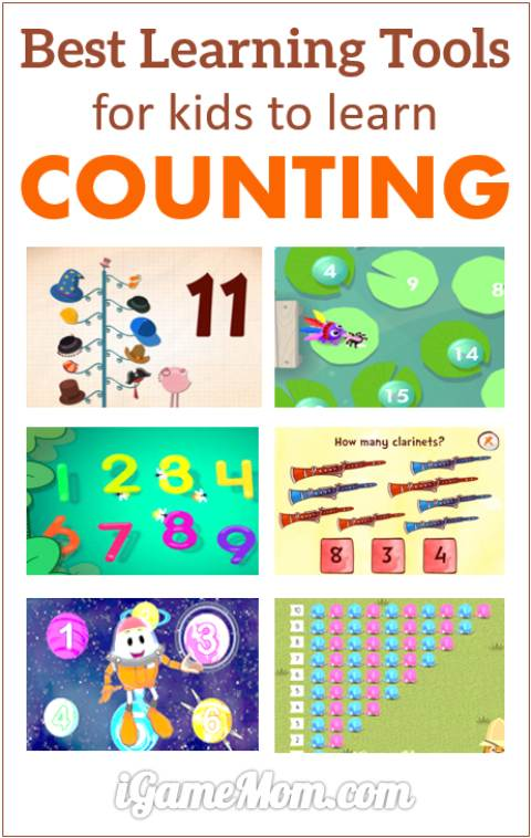 Best counting learning tools, help kids deep understanding of number concepts. Great interactive math learning activities for toddlers, preschool, kindergarten, to early elementary school.