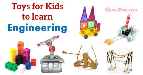 building toys for young engineers