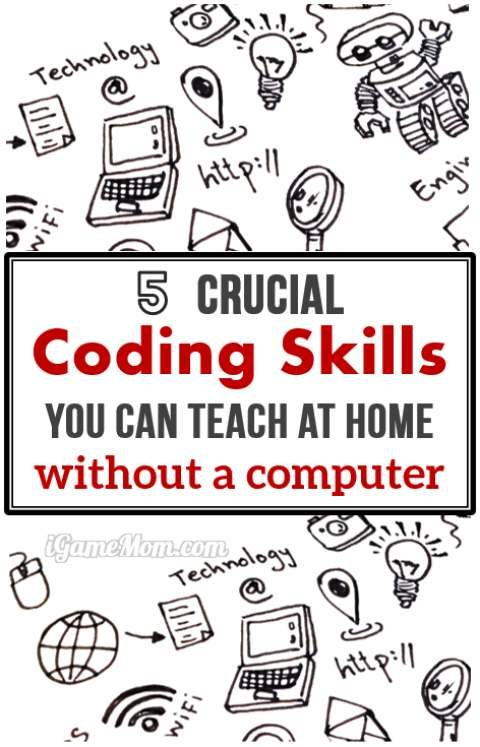 141ce9b46522 Coding for Kids  essential computer coding skills to teach at home with  printable games