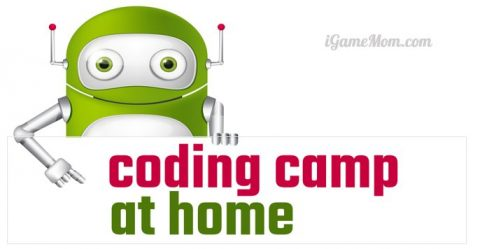 coding camp for kids at home