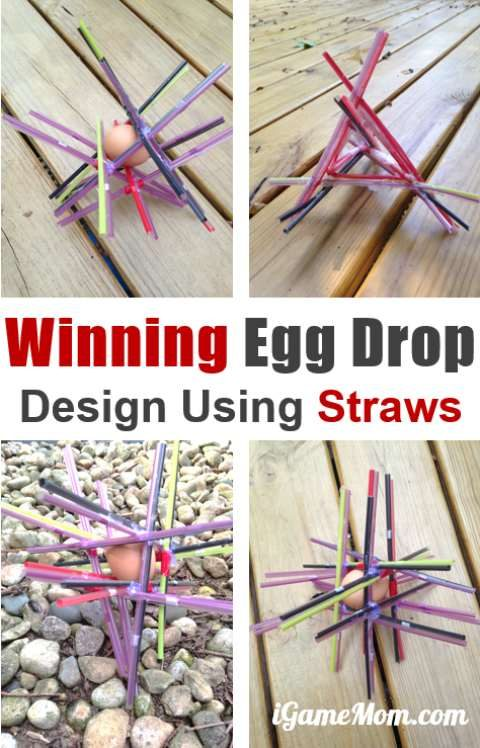 How To Make An Egg Drop With Straws