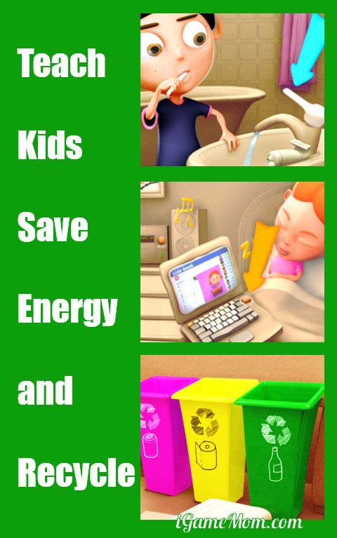 teach kids save energy recycle earth day with fun interactive app | Earth Day