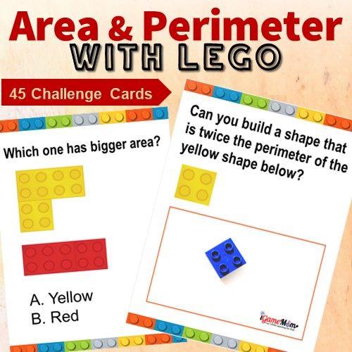 LEGO Challenge Card