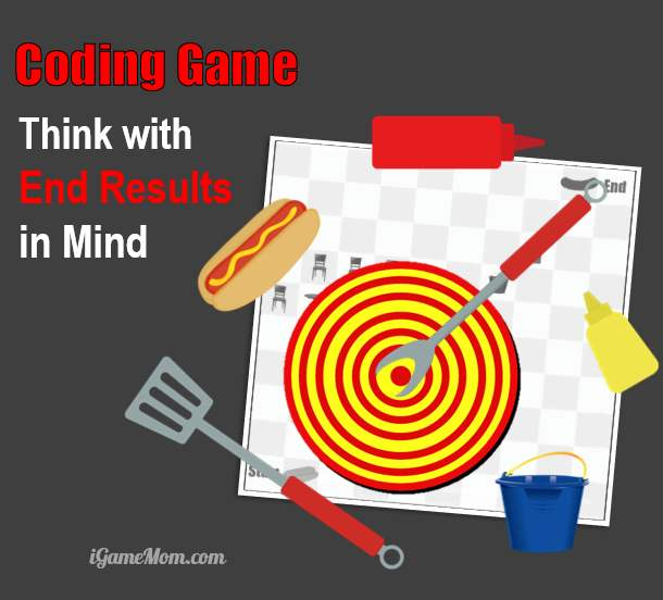 coding game teach children design think with end result in mind