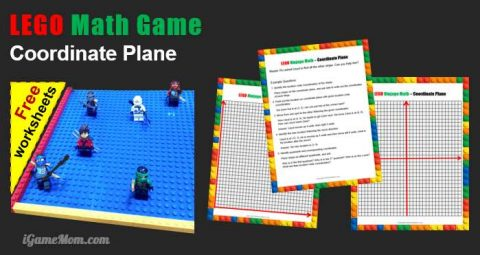 LEGO Ninjago Math Game Coordinate Plane