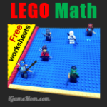 LEGO Math Game of Coordinate Plane with Free Worksheets post image