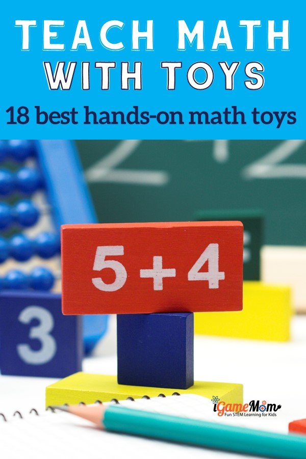 Teach math with hands-on toys and raise math-loving kids