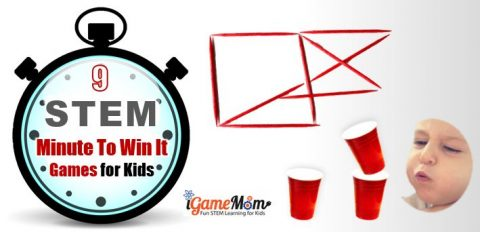 STEM Challenge Minute to Win It Game