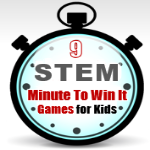 STEM Challenge: Minute to Win it Games for Kids post image