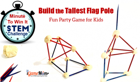 4th of July dinner party patriotic STEM challenge