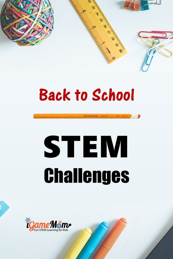 Back to School STEM challenges. STEM activities for kids learn team building, engineering design process, outdoor fun. Pencil catapult, pencil Da Vinci bridge, for kindergarten, elementary, middle school