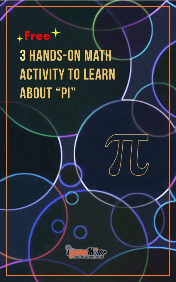 Hands-on math activities to learn about Pi with free activity guide and worksheets for students.
