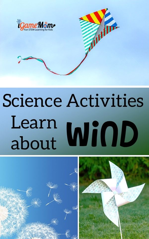 Science activities for kids learn wind power, wind formation, renewable energy. Fun STEM activities for kids preschool to middle school.