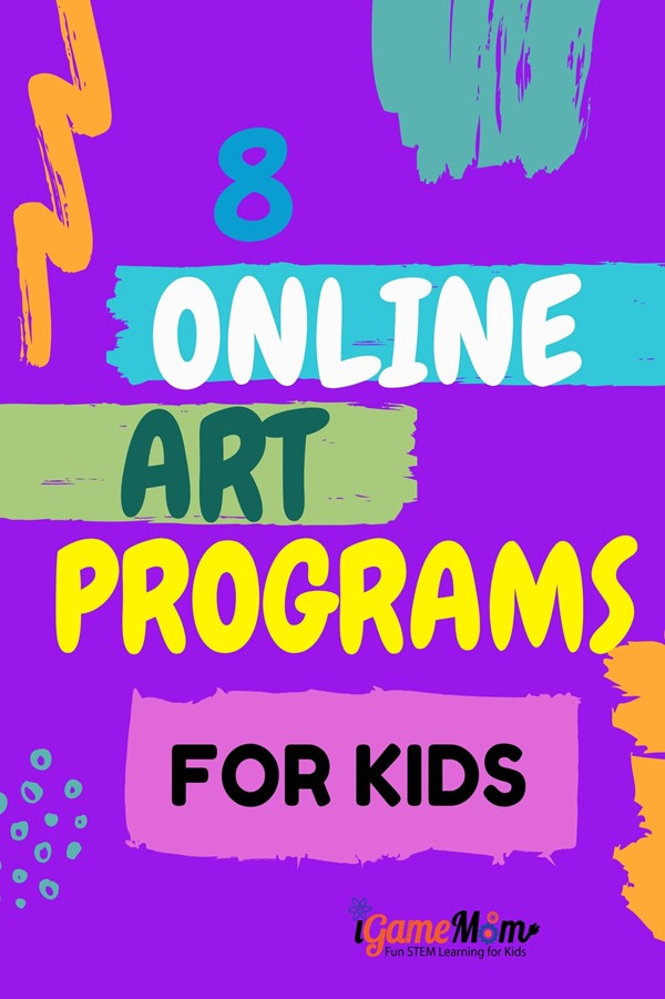 Online art programs for kids learn art appreciation, fundamentals, skills. Free STEAM resources for teachers and parents at school and at home.
