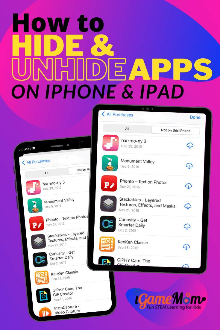 How to hide unhide apps on iphone and ipad